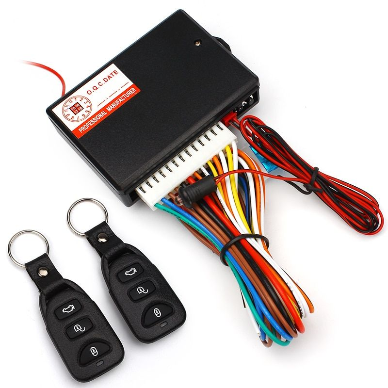 CHIZIYO Universal Car Central Locking Auto Remote Central Kit Door Lock Vehicle Keyless Entry System With Remote Controllers