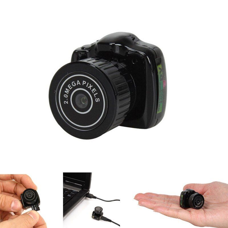 Nueva portátil mini Pocket 720 p HD Webcam cámara de vídeo videocámara DV DVR micro grabadora digital gdeals