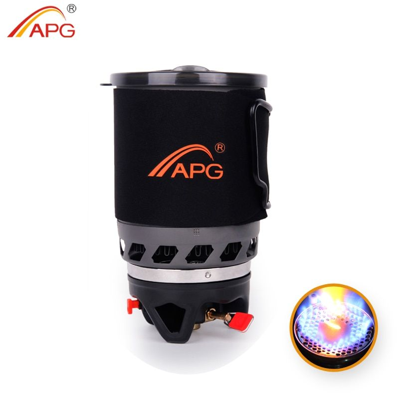 APG 900ml camping gas stove fires cooking System and portable gas burners