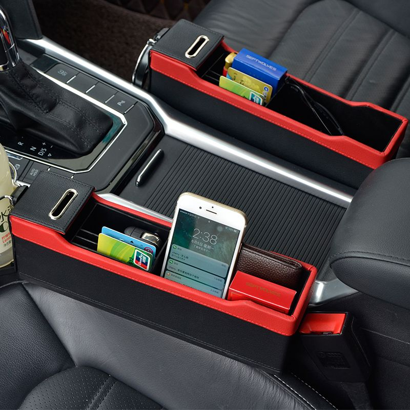 Console Side Pocket Car Organizer Car Seat Catcher Fills the Gap Between the Seat in my pocket