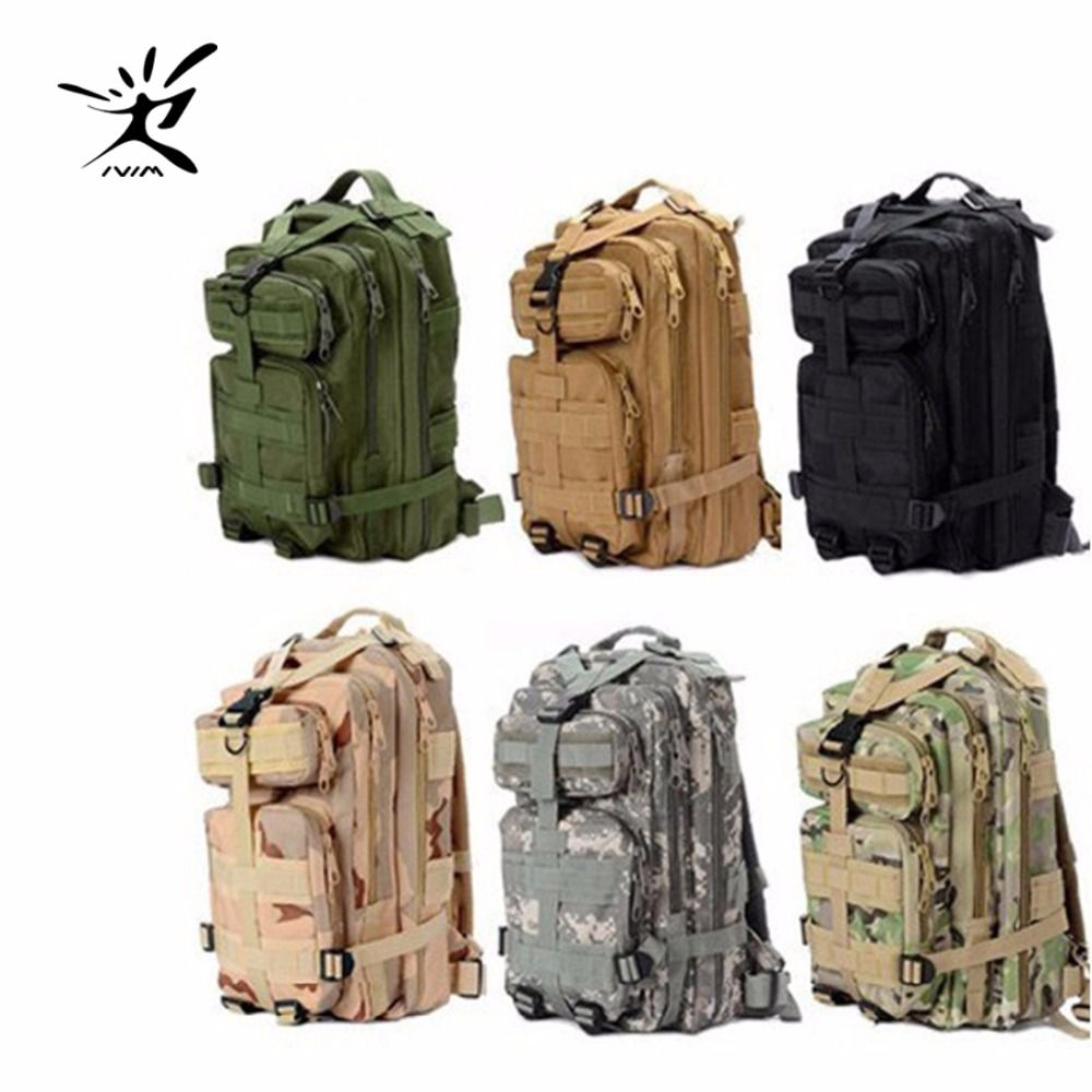 1000D Nylon 9 Colors 28L Waterproof Outdoor Military Rucksacks Tactical backpack Sports Camping Hiking Trekking Fishing Hunting