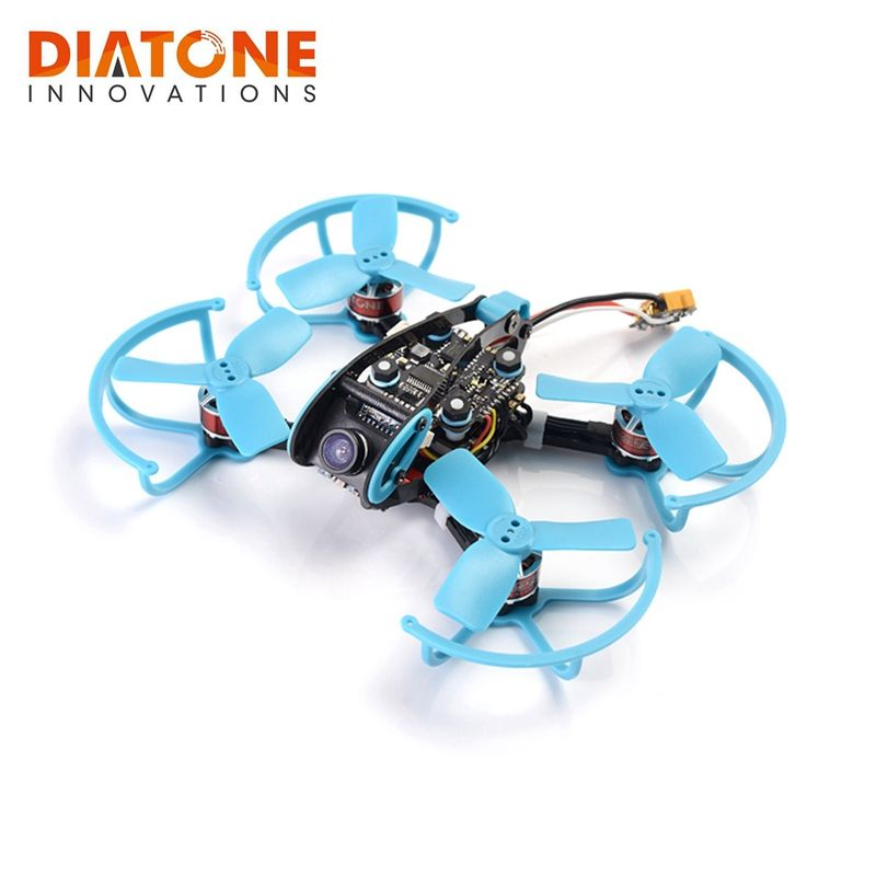 Diatone 2018 GT-R90 FPV Racing Drone F4 Integrated OSD TBS VTX G1 600TVL Camera 15A BLHeli_S ESC PNP VS Eachine Lizard95 X220