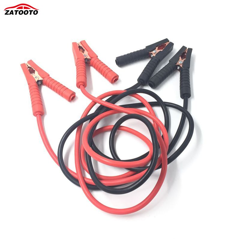 2.5M 1800A Car Battery Jumper Cable Copper Wire Lgnition Wires Storage Battery Emergency Power Charging Booster Cable
