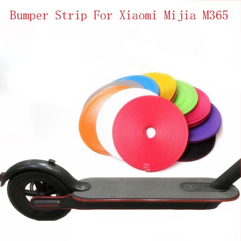 <font><b>Skateboard</b></font> Bumper Strip Protective Strip Tape 8m for Xiaomi Mijia M365 Electric <font><b>Skateboard</b></font> Car Scooter Parts Decorative Strips
