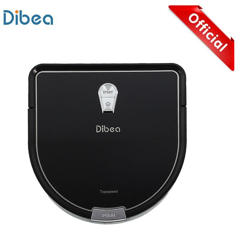 Dibea D960 Smart Roboter-staubsauger mit Nass Wischen Roboter Aspirador Rand Reinigung Technologie für Pet Haar Dünne Teppiche