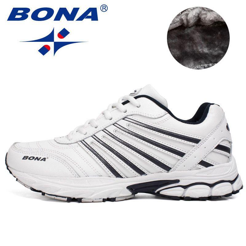 BONA Neue Ausgezeichnete Stil Männer Laufschuhe Lace Up Sportschuhe Outdoor Wanderschuhe Herren Komfortable Sneakers Kostenloser Versand