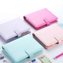 Macaron 2.0 cuadernos de espiral lindo papelería, escuela de oficina bien personal organizador agenda/planificador semanal diario ligante A5 regalo A6