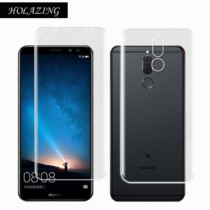 HOLAZING Soft TPU Layer Anti-Scratch Bubble 2.5D Screen Protector Film for Huawei Head 6 5.9
