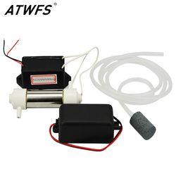 1 Set 220 V 500 Mg/h DIY Ozon Generator untuk Rumah Air Pembersih Udara Air Generator Ozon Generator Pipa + + Pompa Udara + Batu Udara