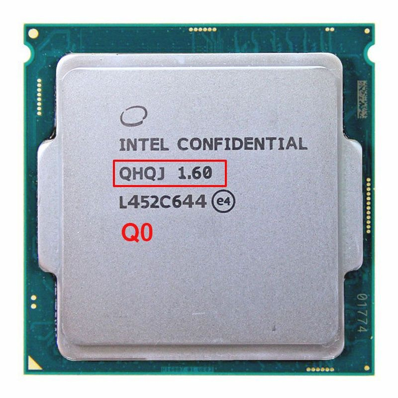 QHQJ Engineering Probe VON Intel core I7 6400 T I7-6400T SKYLAKE ALS QHQG Enthalten grafikkern GPU HD530 1,6G 4 CORE 8 Threads