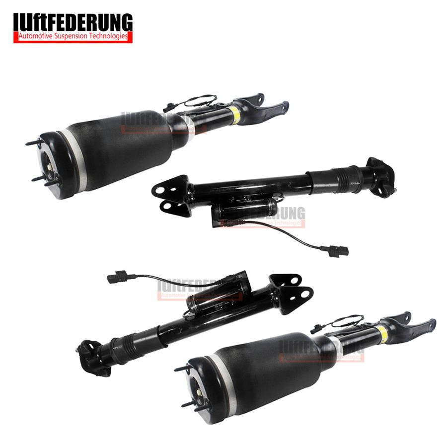 Luftfederung Mercedes W251 2pcs Front + 2pcs Rear Air Spring Suspension Air Shock Absorber Assembly 2513203113 2513201931