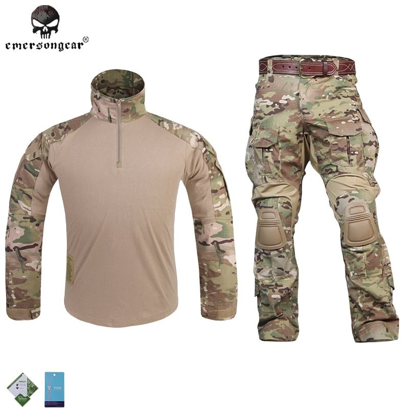Emersongear G3 Uniform Combat Shirt Pants Military Airsoft Tactical Paintball Hunting clothes Emerson BDU Multicam