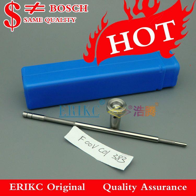ERIKC 0445110376 soupape de commande d'injecteur F00VC01383, F OO V C01 383 diesel common rail valve F00VC01 383 pour Cummins