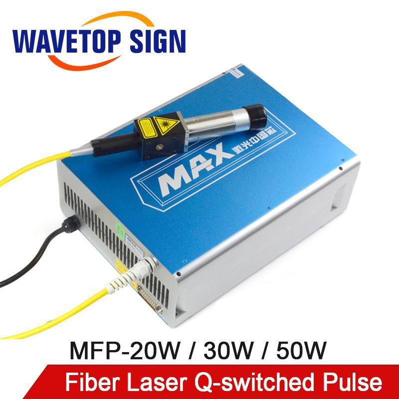 MAX 20 W-50 W Q-switched Puls Faser Laser Serie GQM 1064nm Hohe Qualität Laser Kennzeichnung Maschine DIY TEIL