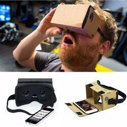 DIY Ultra Clear Google Cardboard VR BOX 2.0 Virtual Reality 3D Glasses for iPhone SmartPhone computer gafas xiaomi mi vr headset