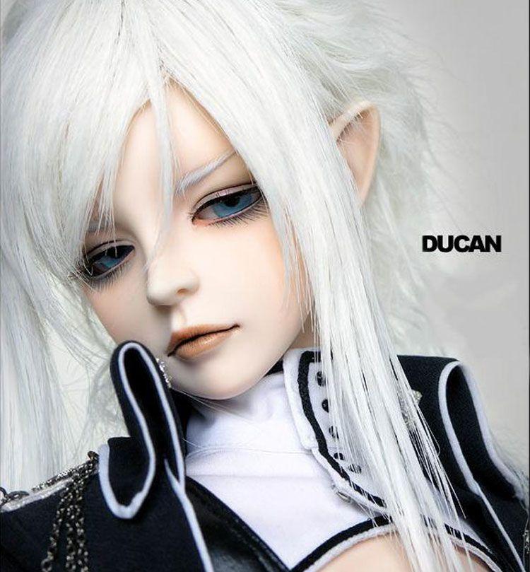 OUENEIFS Ducan elf ear or human ear DOD bjd sd dol l1/3 body model baby girls boys eyes High Quality toys shop