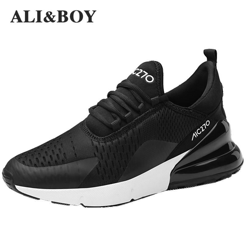 Hommes Chaussures Sport Chaussures de Course Pas Cher 2018 Marque Sneakers Hommes Chaussures Zapatillas Hombre Deportiva Respirant Masculino Esportivo