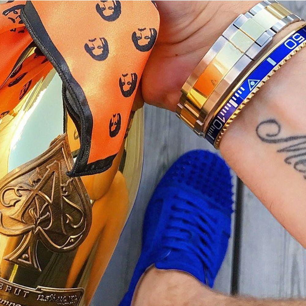 Beichong Bracelet classique compteur de vitesse officiel en acier inoxydable 316l cadran de montre compteur de vitesse Bracelet Bracelet bijoux