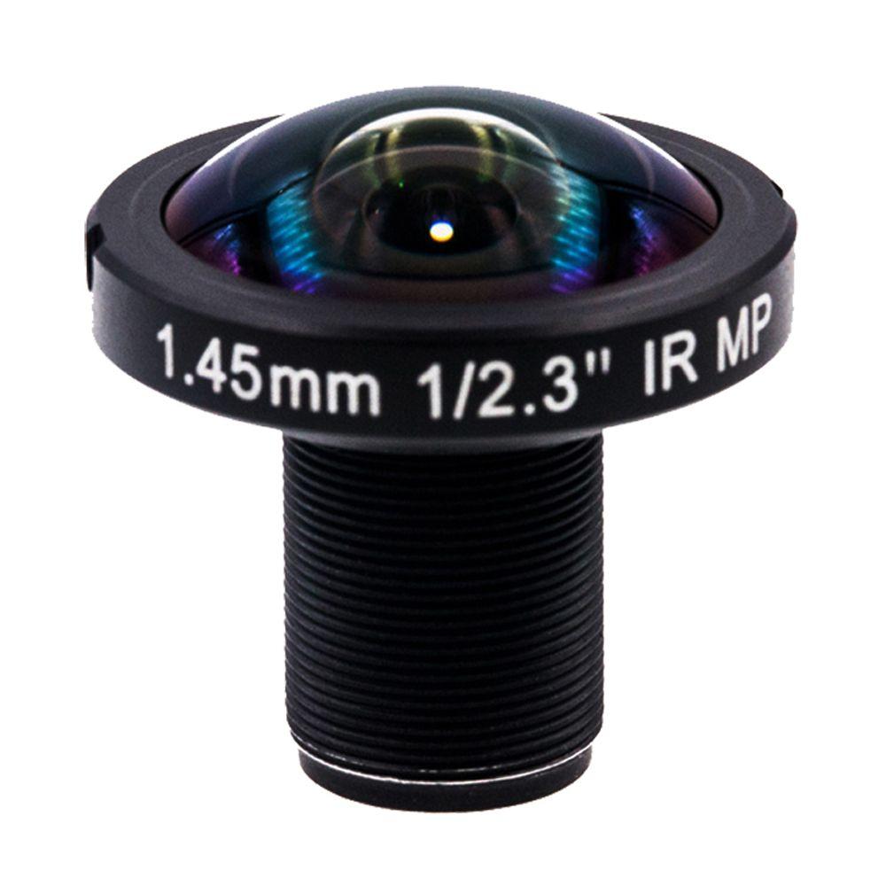 1.45mm Fisheye Lens 190 Degree 12Megapixel wide angle IR Lens for GoPro Hero 4 3 Xiaomi Yi 4K SJCAM SJ4000 Panoramic 360VR shoot