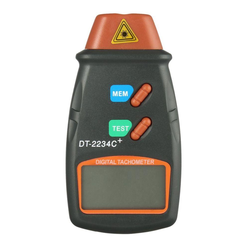 Newest Digital Laser Tachometer RPM Meter Non-Contact Motor Speed Gauge Revolution Spin Drop Shipping