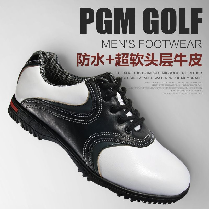 2017 hot style stereoscopic printing golf shoes Male high-end sports shoes Super waterproof shoes