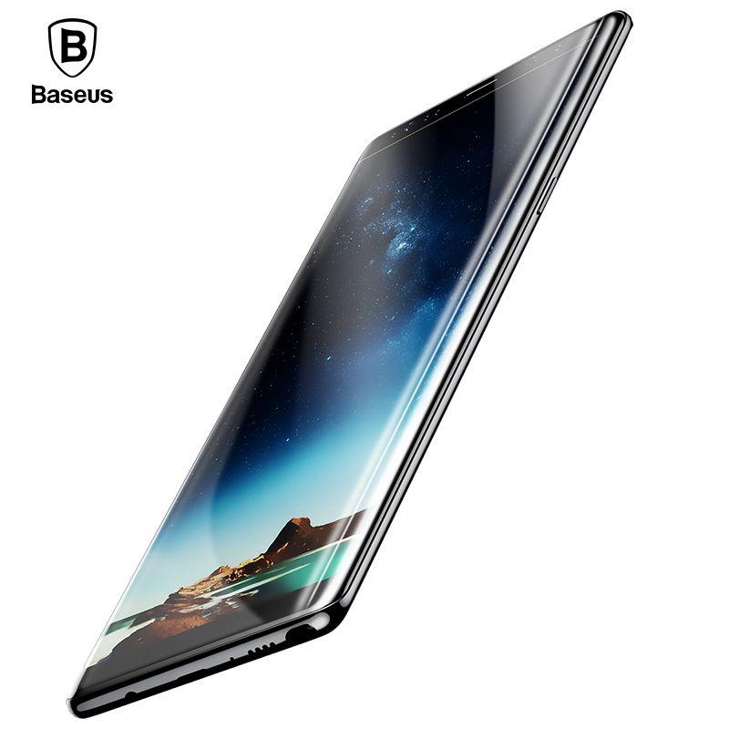 Baseus 3D Surface En Verre Trempé Pour Samsung Galaxy Note 8 Écran Protecteur Pleine Couverture De Protection En Verre Pour Samsung Note 8