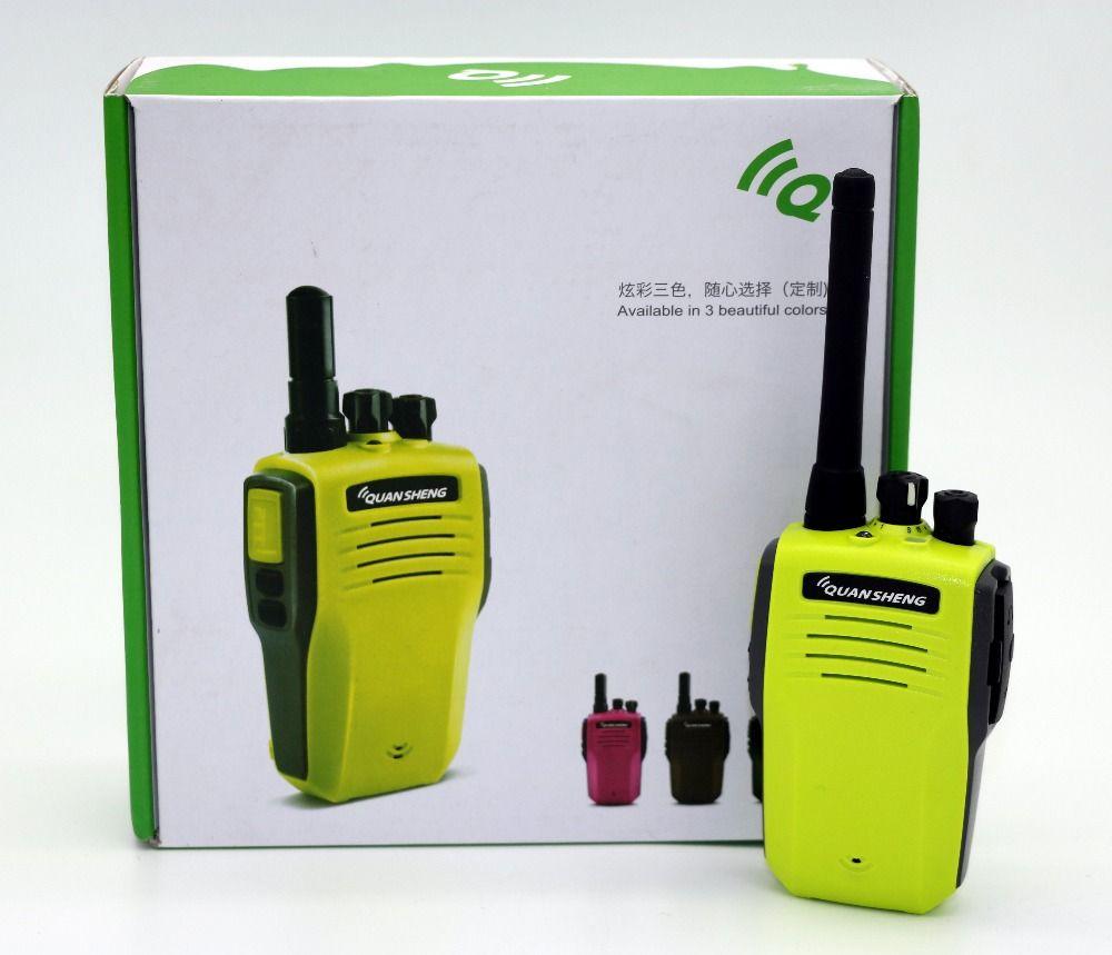 Quansheng TG-K100 Walkie Talkie UHF 400-480MHz 2W 16CH Flashlight two antenna Portable radio TGK100 Transceiver for hunting