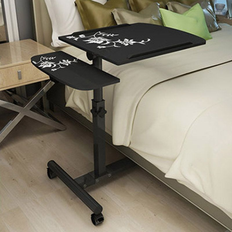 2018 Foldable Computer Table Adjustable Portable Laptop Desk Rotate Laptop Bed Table Can be Lifted Standing Desk 64*40CM