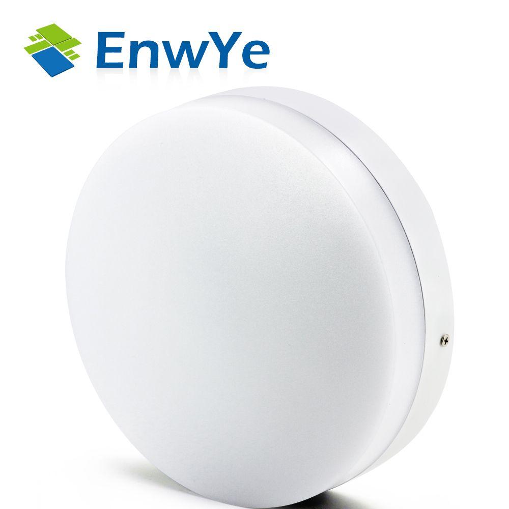 EnwYe Modern led ceiling lights for Hallway bathroom round  aluminum Acryl High brightness 220V 10W 15W 20W 30W 40W LED lamp