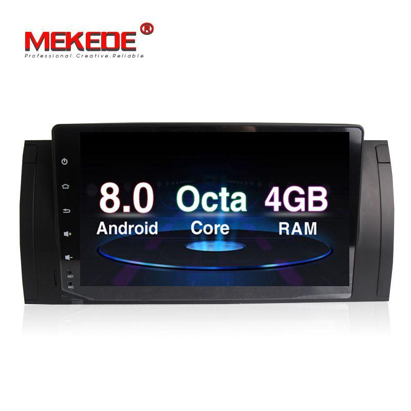 PX5 Android 8.0 4G RAM Auto DVD-player radio stero Für BMW E39 E53 X5 M5 Octa-core 32G ROM 9 zoll 1024*600 bildschirm freies verschiffen