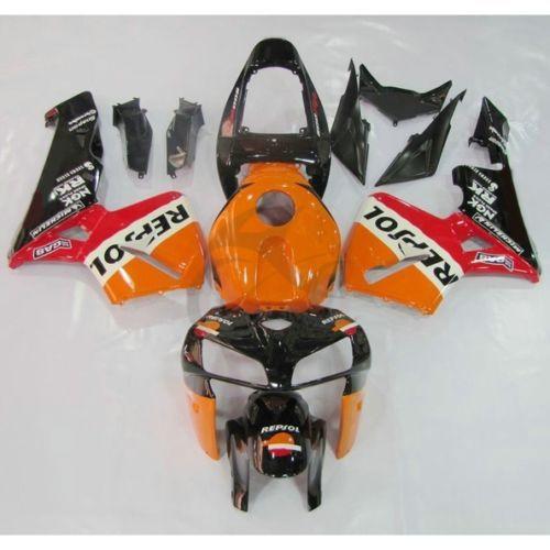 Repsol Injection ABS Verkleidung Karosserie Kit Für Honda CBR600RR F5 2005 2006 26B