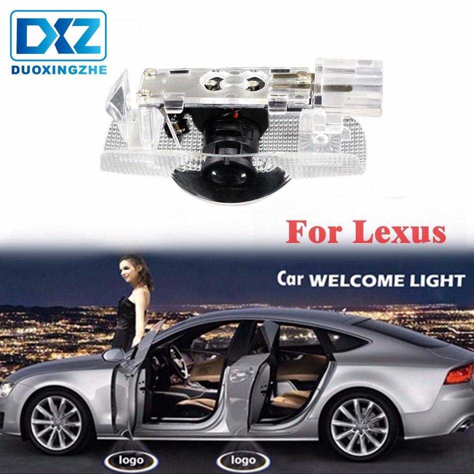 Auto FÜHRTE Tür Logo Projektor Geist Schatten Licht für Lexus GS ES240 ES250 ES300 ES350 RX270 LX450 470 570 LS