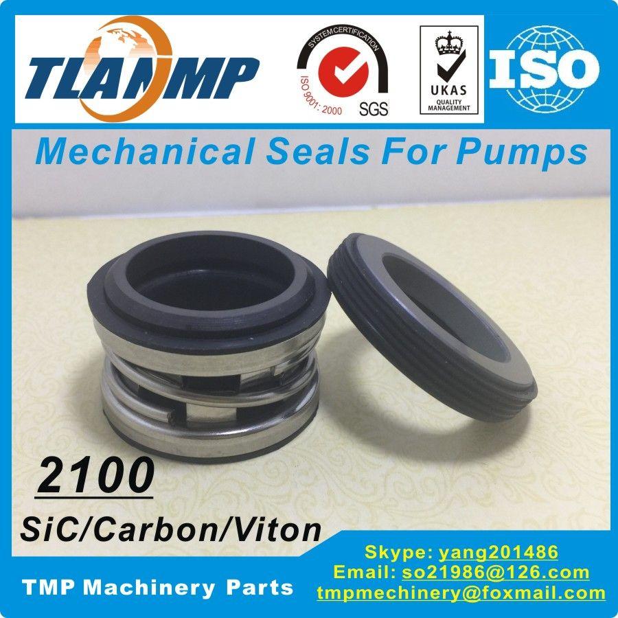 Type 2100-45mm (TJ-0450) Elastomer Bellows Seal  - John Crane Mechanical Seals (Material:SiC/Carbon/Viton)