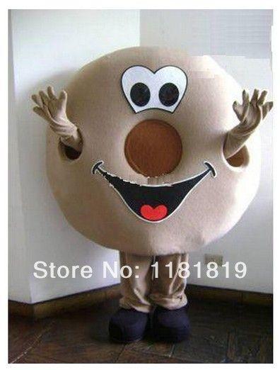 Donut traje de la mascota de la mascota de encargo de lujo kits del traje del anime cosplay mascotte fancy dress carnival costume