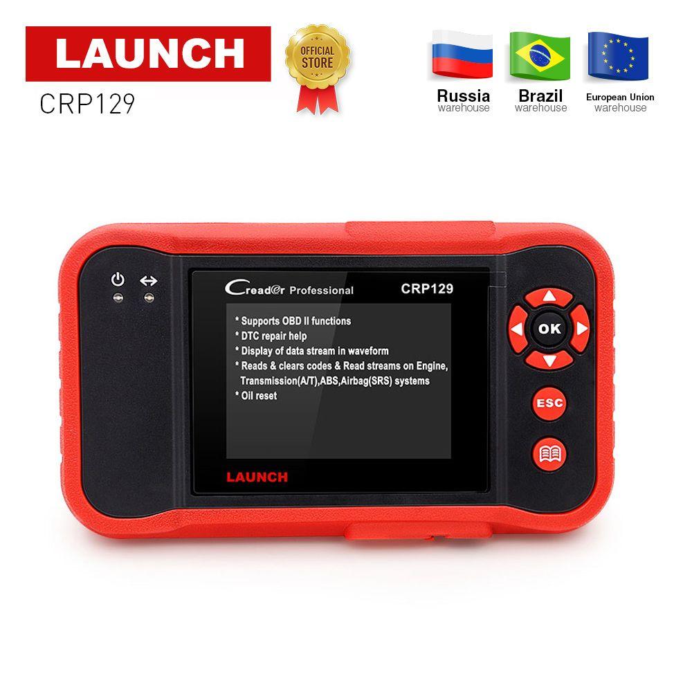 Launch Creader CRP129 Professional obd2 EOBD Diagnostic Scanner ENG/AT/ABS/SRS + EPB SAS Oil reset CRP 129 Auto Code Reader tool