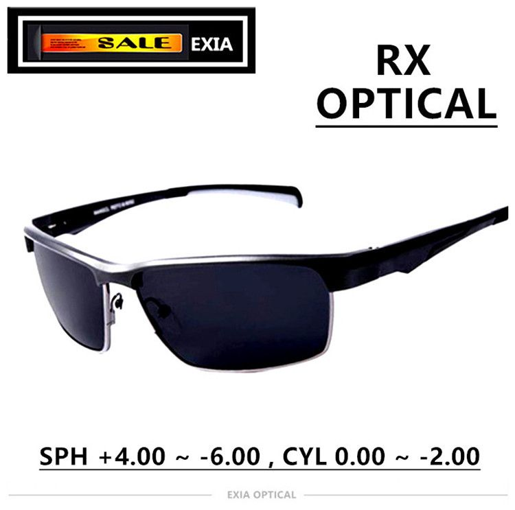 Prescription Sunglasses Polarized Men Eyewear High Quality Design Luxury Spectacle EXIA OPTICAL KD-180 Series