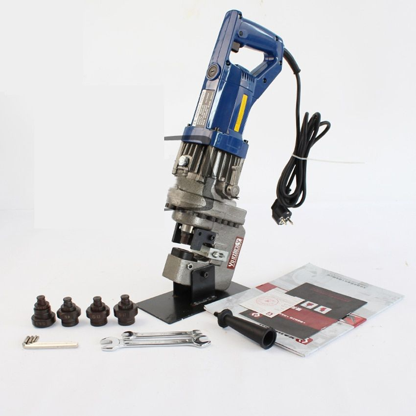 MHP-20 Electric handy hydraulic hole puncher for punching 6mm thickness (6.5-20.5)on steel,angle steel,iron,aluminum plate