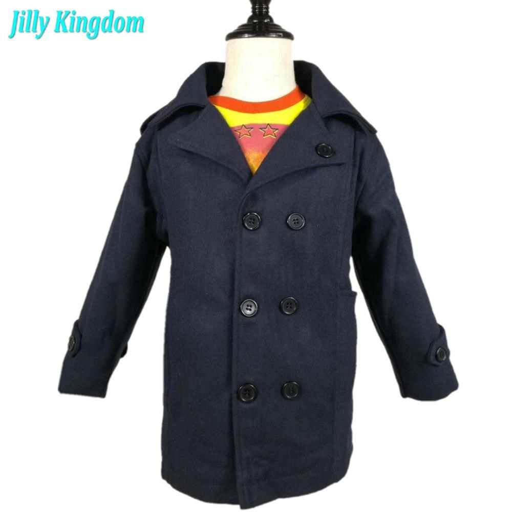 new 2018 children outerwear kids boy baby coat Retail clothing fasion winter jacket coat for Boys <font><b>clothes</b></font> 2~7 children clothing