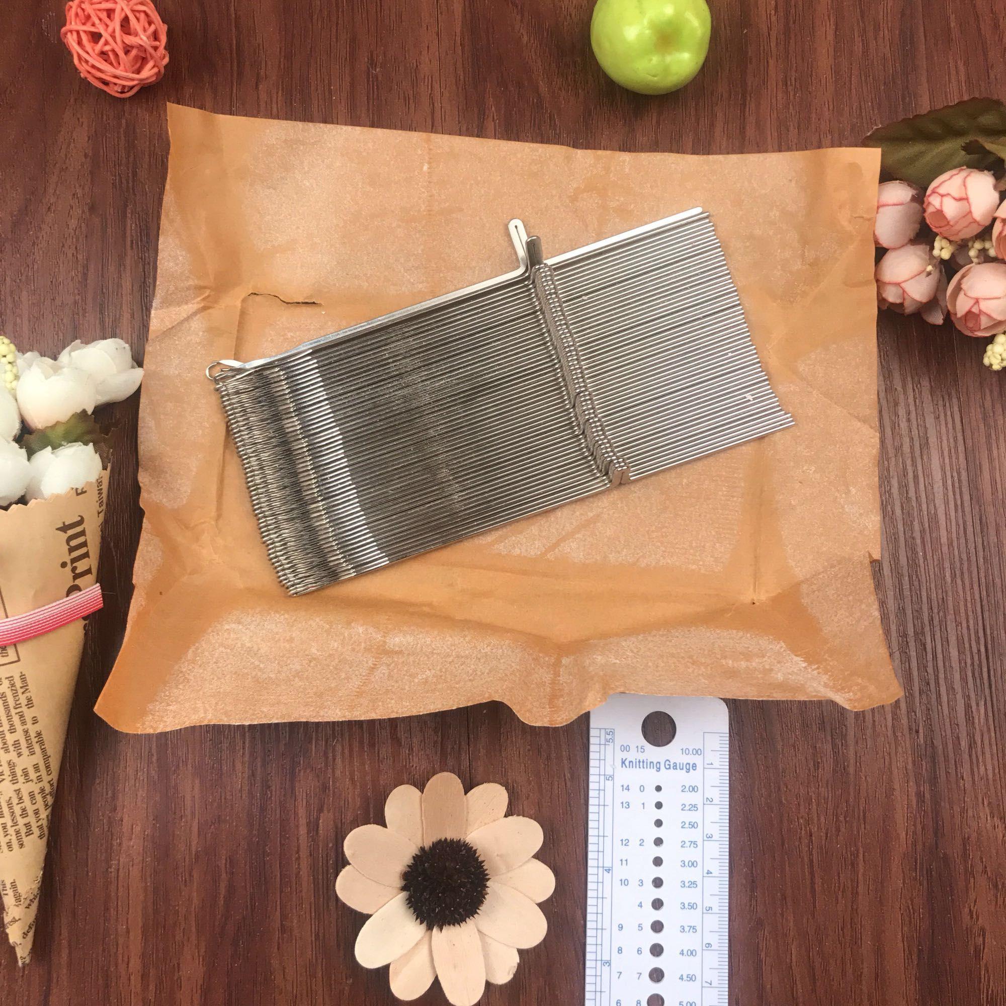Livraison Gratuite KH260 machine à tricoter crochet aiguilles 15.7 cm 50 pièces FRÈRE/SILVER REED principal machines tricotées raccord