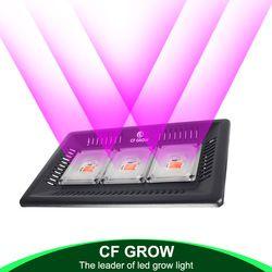 Impermeable IP67 COB Led crecen espectro completo de luz 100 W 200 W 300 W para vegetales flor invernadero hidropónico de interior lámpara de la planta