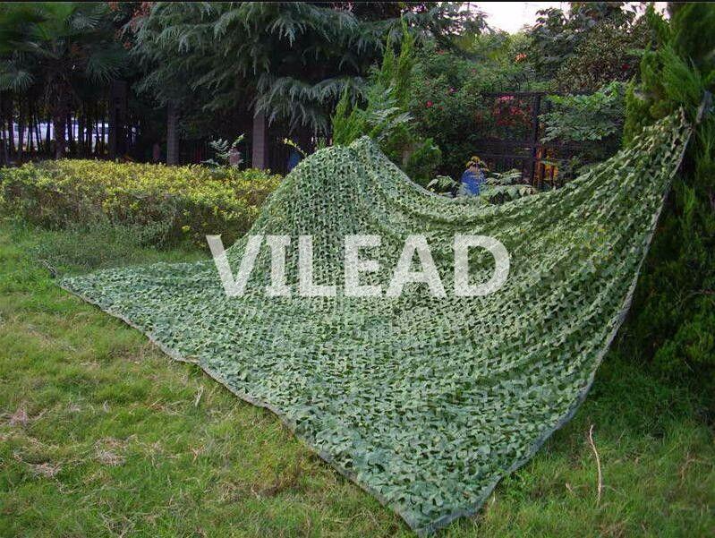 VILEAD 1.5x8M Camo vert numérique Camouflage filet filet pour chasse Sniper Camping photographie décoration de fond
