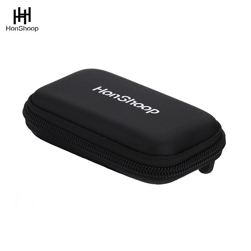 Honshoop из искусственной кожи карман размер универсальный держатель Чехол сумка для хранения для Plantronics Jabra одним ухом bluetooth гарнитуры коробка