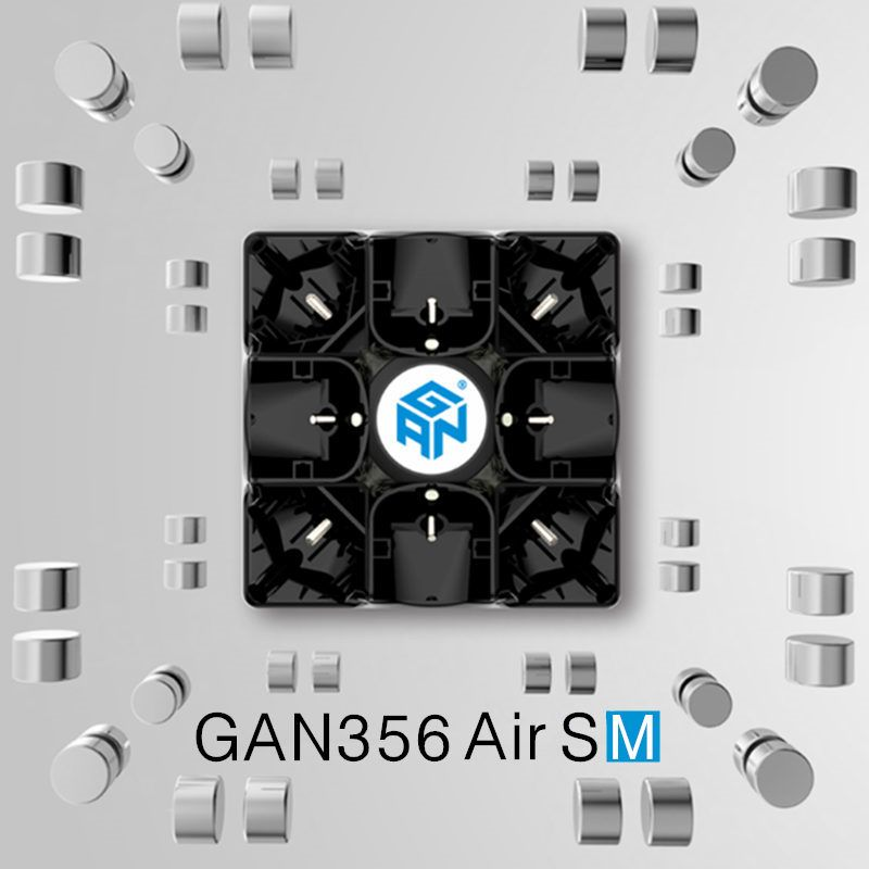 GAN 356 Air SM 3x3x3 with magnetic puzzle magic speed <font><b>cube</b></font> professional gans 356 professional cubo magico Gan356 Air version 249