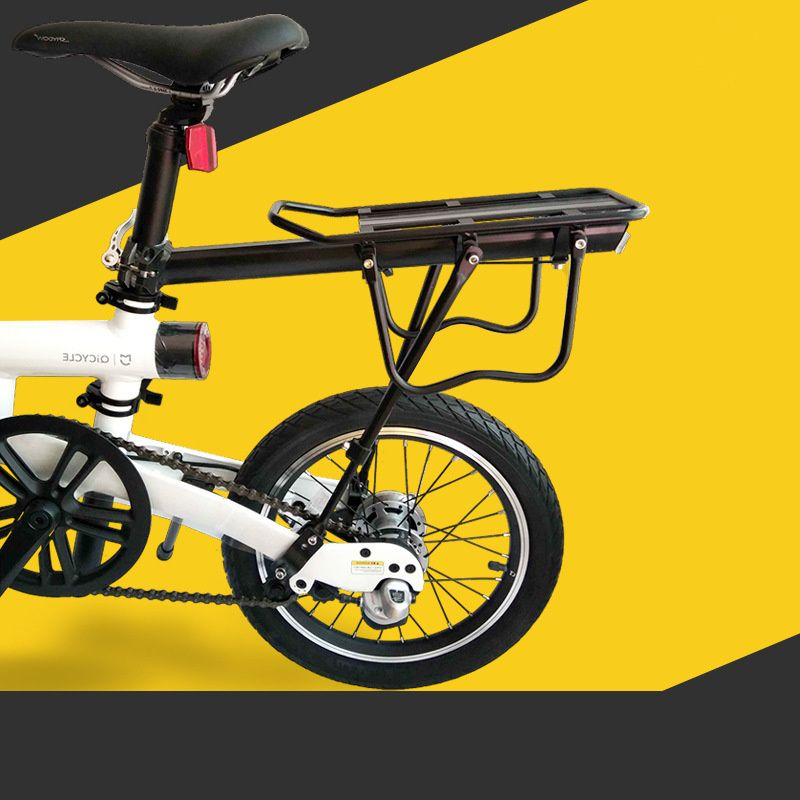 Mountain bike rack rear shelf quick release accessories carrier tail Xiao mi qicycle ef1 electric moped general purpose