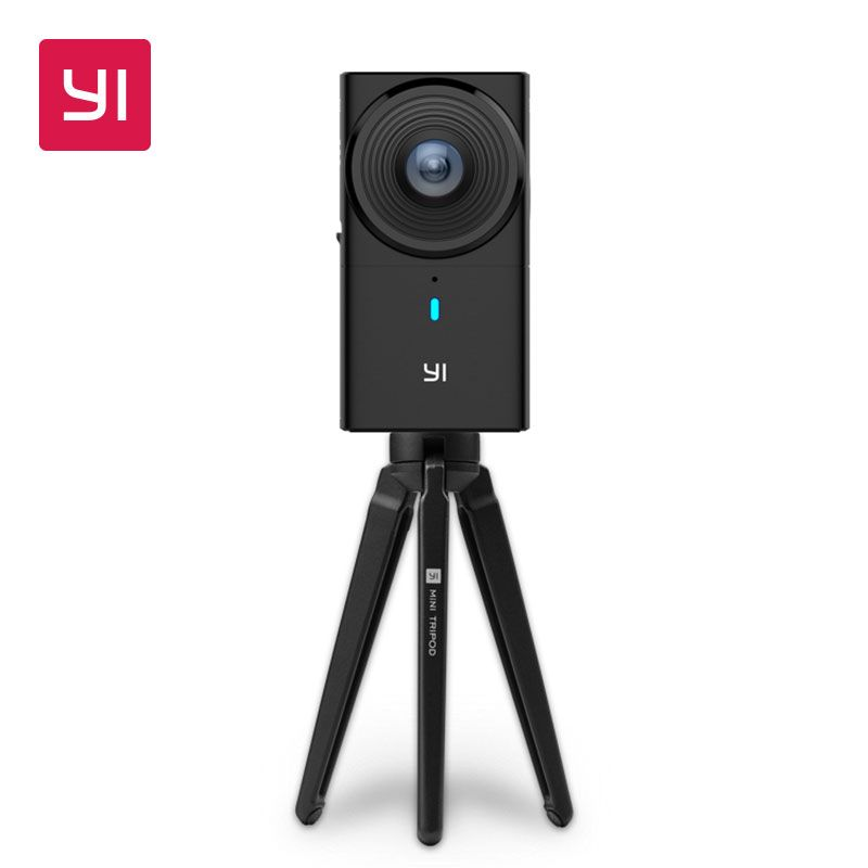 YI 360 VR Kamera Dual-Objektiv 5,7 karat HALLO Auflösung Panorama Kamera mit Elektronische Bild Stabilisierung 4 karat in -kamera Nähte