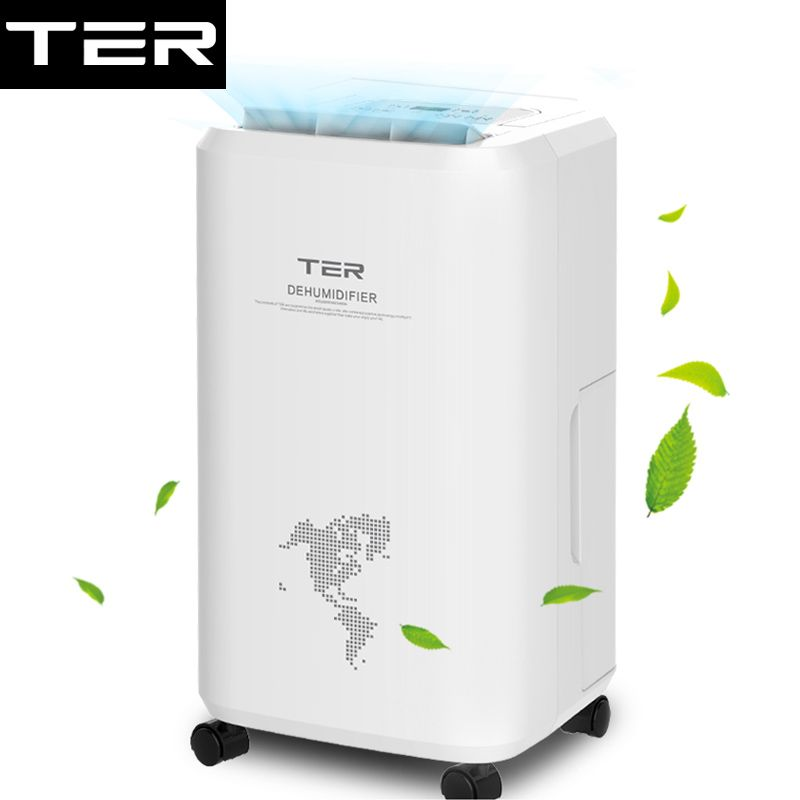 Dehumidifier Silent Bedroom Basement High Power Air Dryer 10L/D Timing Dry Clothes Big Water Tank Universal Wheel