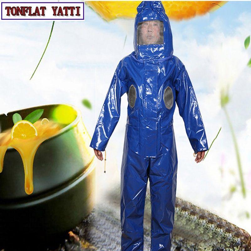 Bienenzucht Anzug Abnehmbare Hut Anti-bee Schutz Sicherheit Overalls Smock Ausrüstung Liefert Bienenzucht Jacke Schleier Set