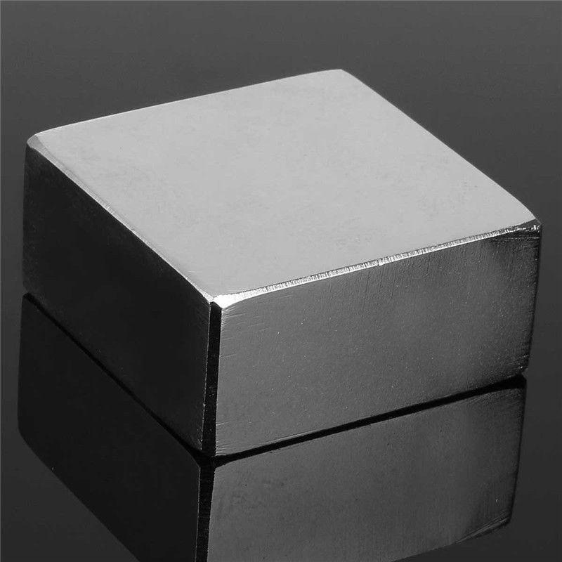 1 STÜCK N50 Neodym-magnet Stark Magnet Seltenerd-magneten Block 42x42x22mm Neueste