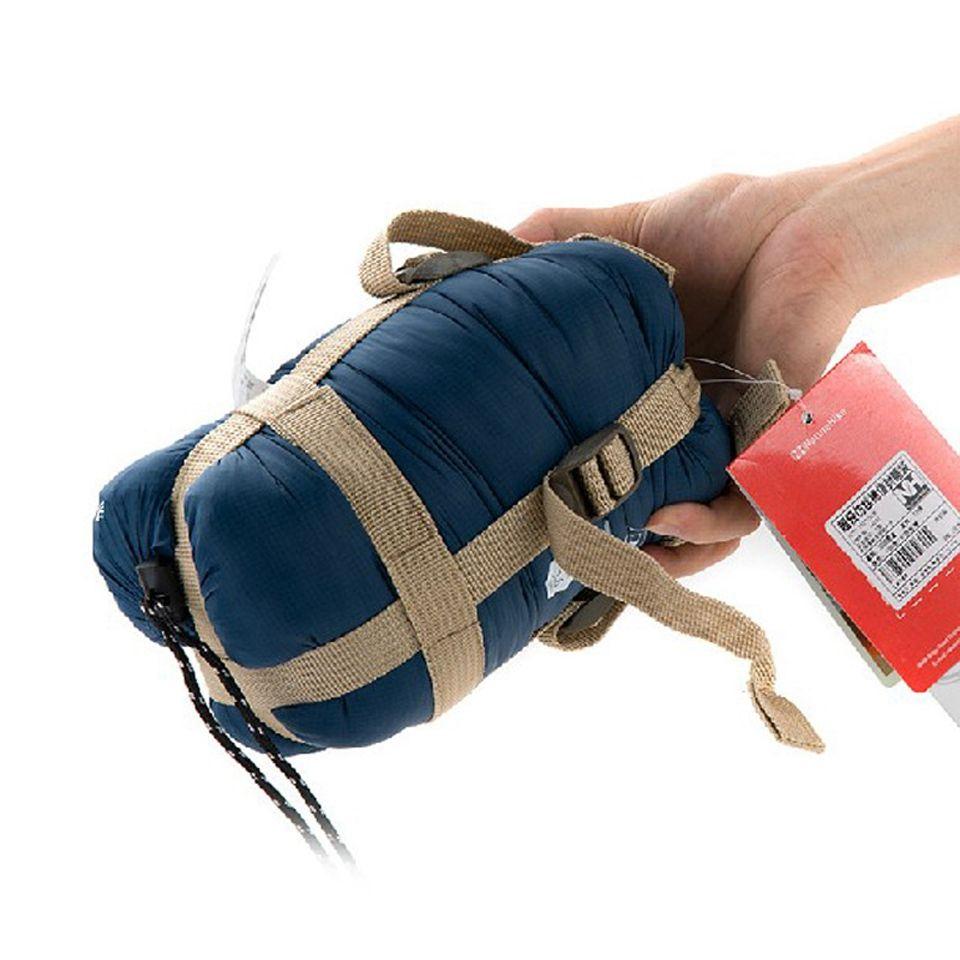 Naturehike Épissure Enveloppe Sac de Couchage Adulte Ultra-Léger Portable En Plein Air Camping Randonnée Sacs de Couchage Printemps Automne 1.9*0.75 m