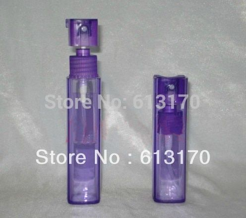 10ml Empty sprayer perfume bottle travel Atomizer bottle cosmetic packaging container purple free shipping